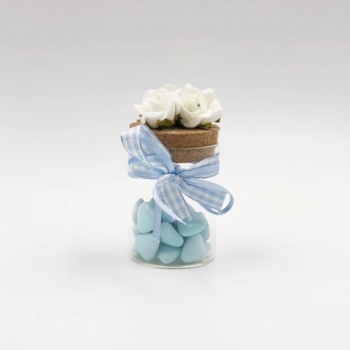 Bomboniera vasetto azzurro