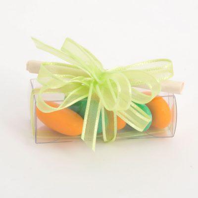 portaconfetti arancio