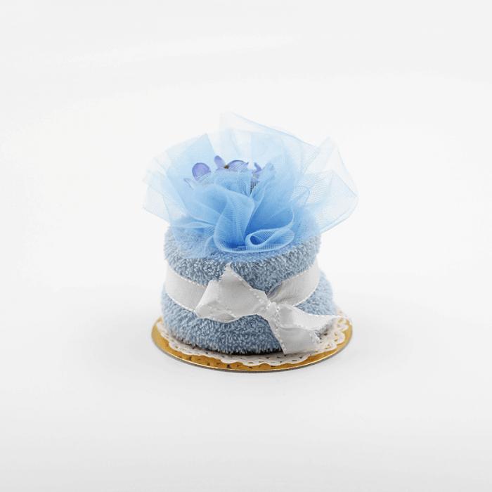 tortina battesimo azzurro